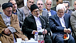 شعرخوانی حسین کریمی مراغه ای در دیدار شعرا با رهبری