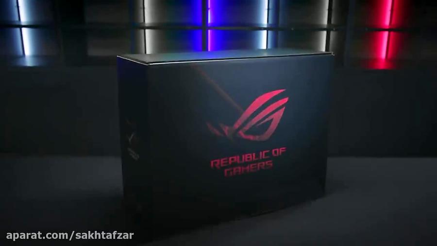 جعبه گشایی رسمی کامپیوتر ROG Huracan G21