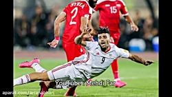 گفتگو با مهدی طارمی بعد از بازی با پرتغال