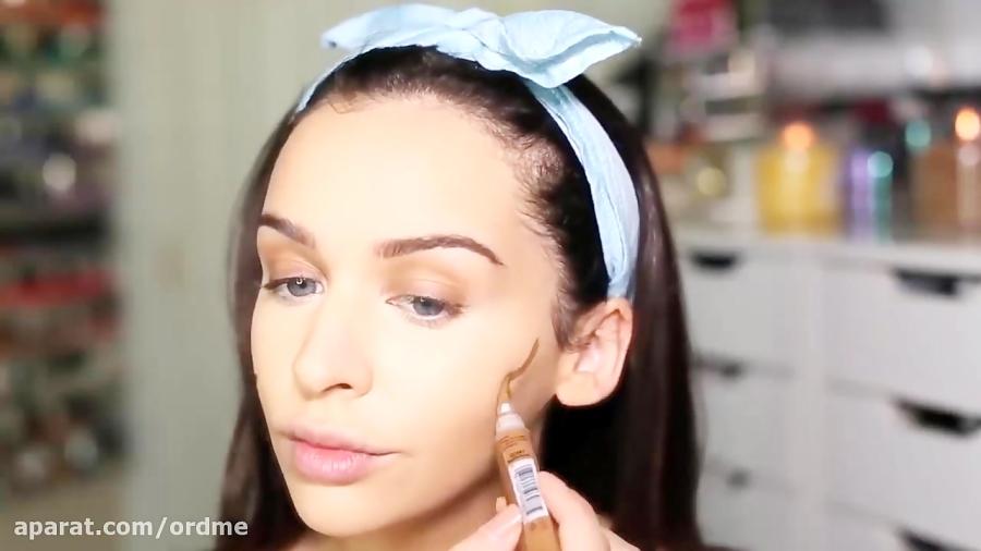 آموزش آرایش کامل سر و صورت