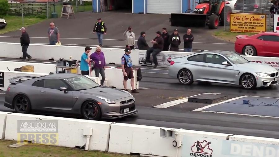 حدس بزنید برنده کیست، ب ام و M4 یا نیسان GT-R ؟