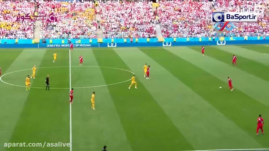 خلاصه بازی پرو 2-0 استرالیا (ترکی)