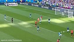 حذف آلمان از جام جهانی ...