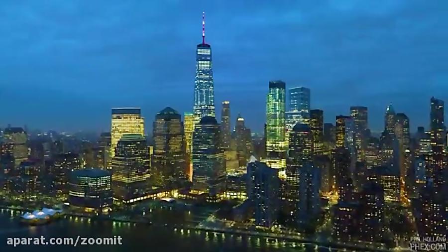فیلمبرداری ۱۲K و عکس های ۱۰۰ مگاپیکسلی از نیویورک