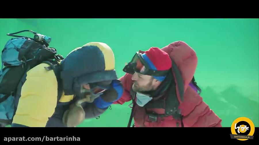 ویدئو هیجان انگیز از کاربرد پرده سبز در فیلم اورست