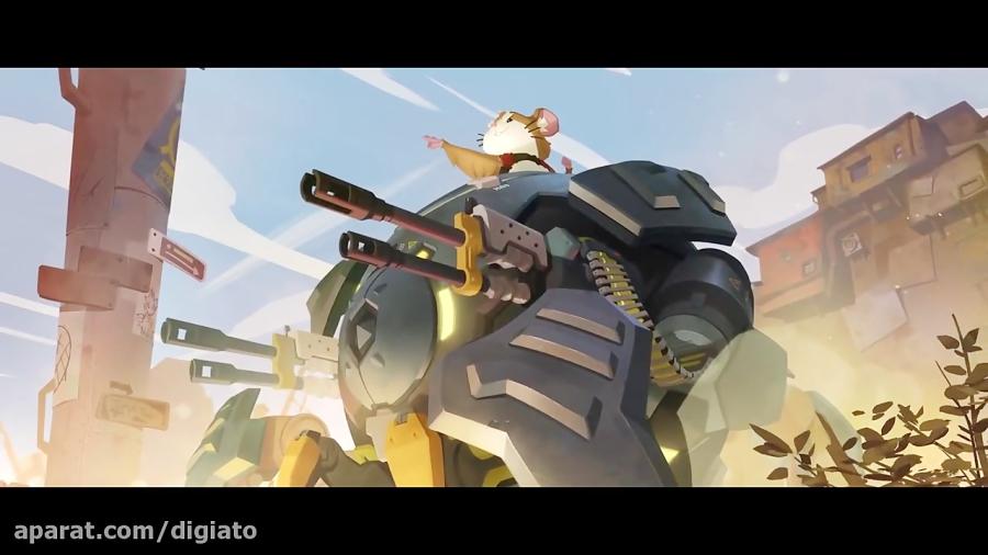 قهرمان جدید بازی Overwatch یک همستر است