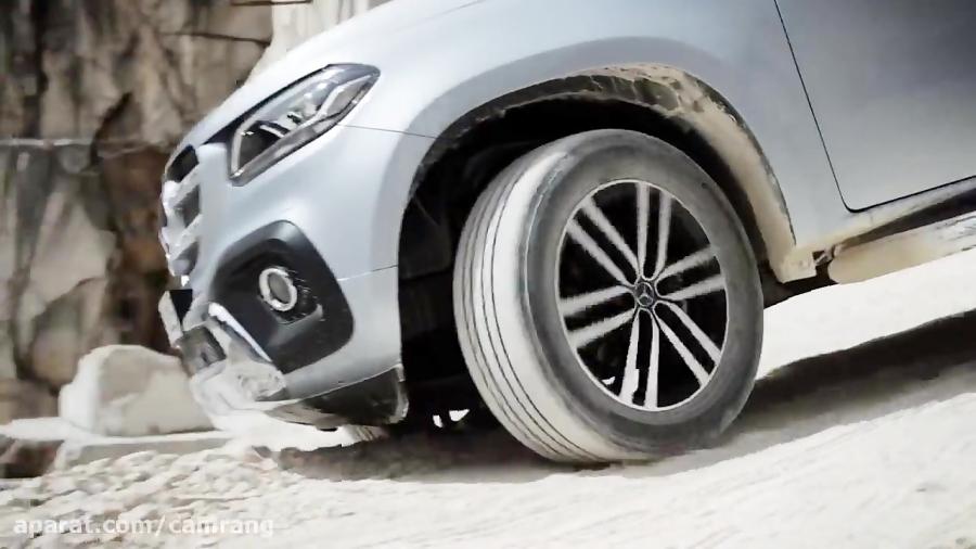 تیزر رسمی معرفی خودرو Mercedes Benz X 350 d