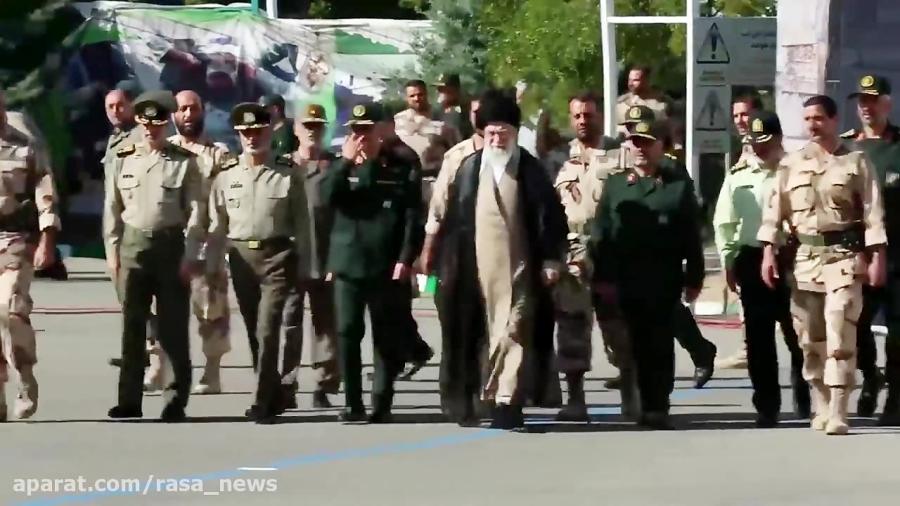 حضور فرمانده کل قوا در دانشگاه امام حسین