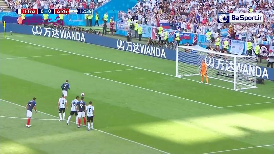 خلاصه بازی فرانسه 4-3 آرژانتین (HD| دبل امباپه)