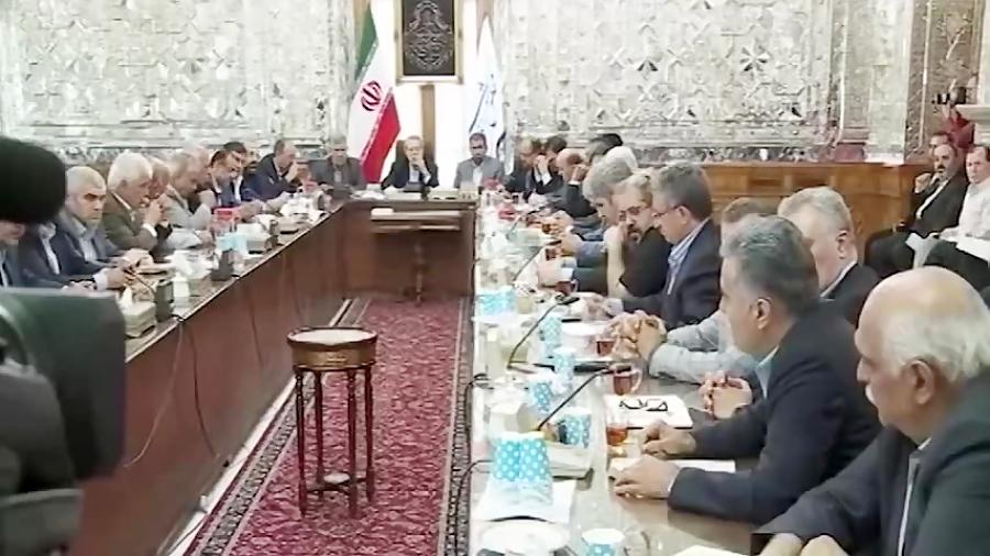 گلایه های صریح بازاریان از اوضاع اقتصادی در حضور لاریجانی