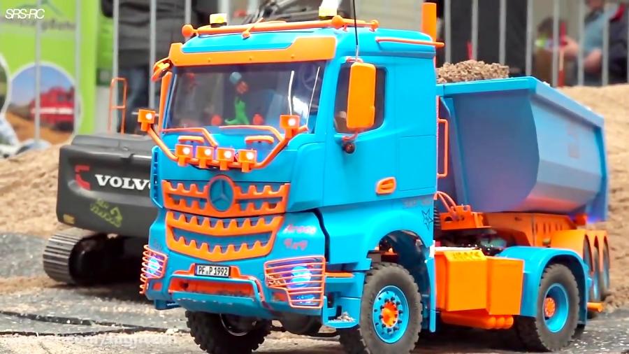 نمایش کامیون کنترلی مدل اسکانیا