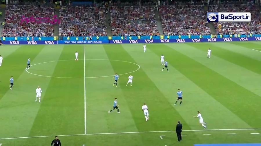 خلاصه بازی اروگوئه 2-1 پرتغال (HD | دبل کاوانی)