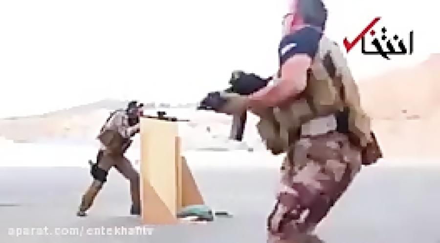 تمرینات نظامی پادشاه اردن به همراه ولیعهدش