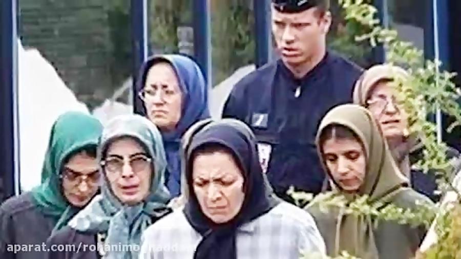 خود سوزی اجباری اعضا منافقین در حمایت از مریم رجوی