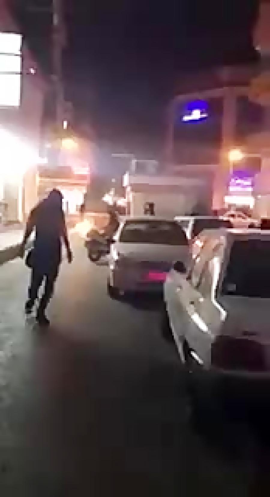 درگیری شورشیان با نیرو انتظامی در نادری اهواز