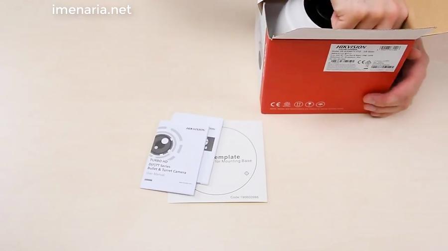دوربین مداربسته دام hikvision DS-2CE56F7T-IT3Z