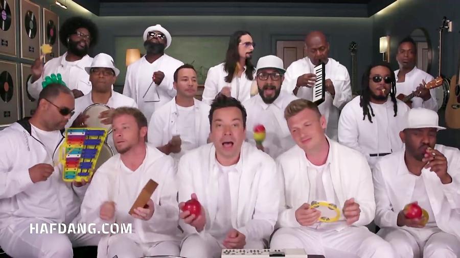اجرای آهنگ مشهور گروه بک استریت بویز با سازهای بچه گانه