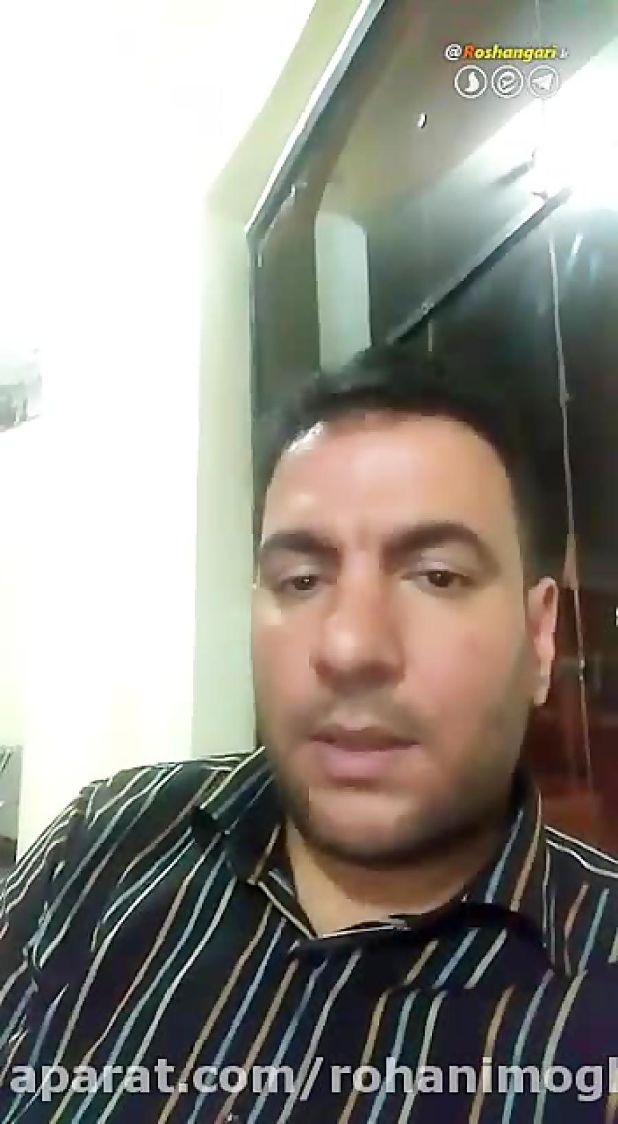 ویدئوییکه محمدانصاری بعدازانتشارخبرمرگش به اشتراک گذاشت