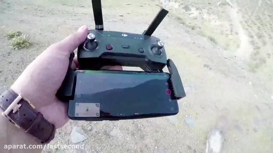 نحوه کار با هلی شات (درون - drone) در سفر