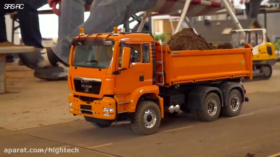 کامیون کنترلی و پروژه خاکبرداری