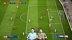 بازی اسپانیا روسیه   جا...