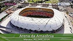 استادیوم های جام جهانی 2014 برزیل