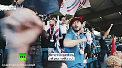 World Cup fans: France