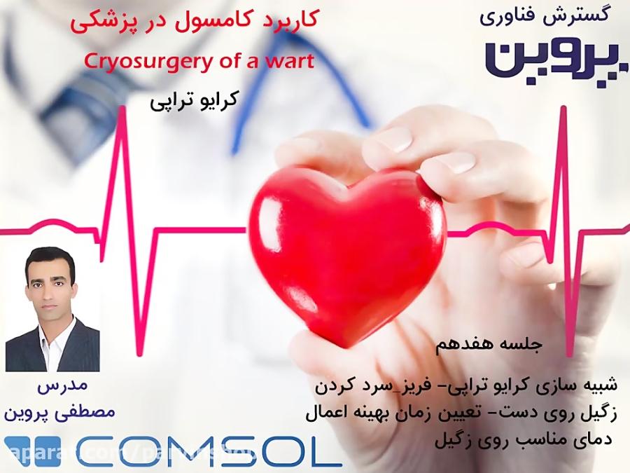 کاربرد نرم افزار کامسول comsol در پزشکی