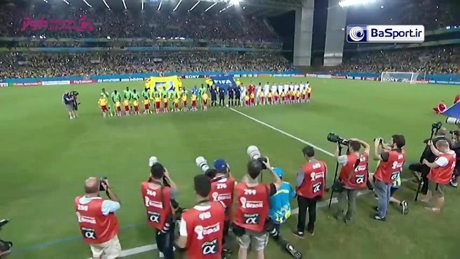 خلاصه بازی نیجریه 1-0 بوسنی (جام جهانی 2014)