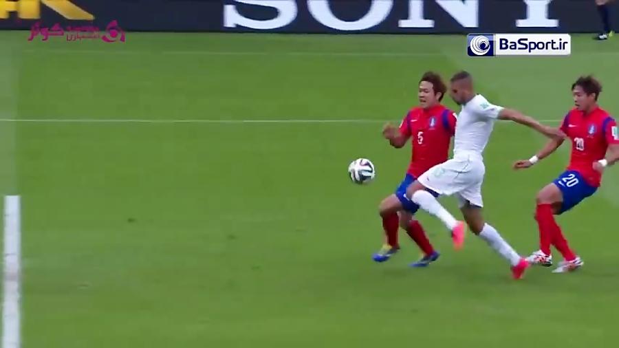 خلاصه بازی الجزیره 4-2 کره جنوبی (جام جهانی ۲۰۱۴)