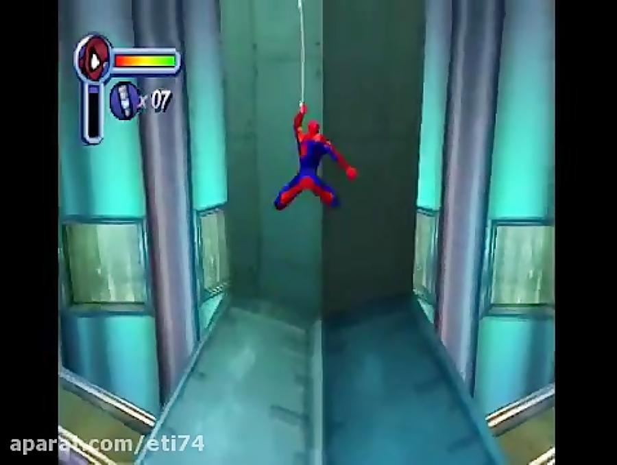 بازی مرد عنکبوتی پلی استیشن 1 کامل Spider Man