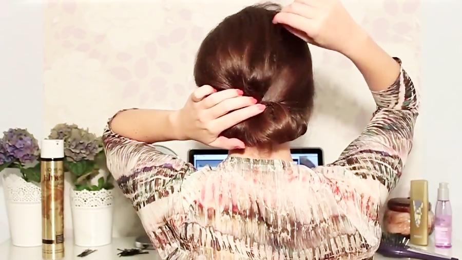 آرایش مو، آموزش مدل شینیون شیک و ساده