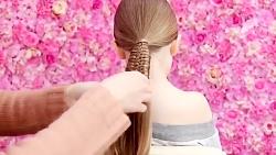 آموزش بافت مو خعلی زیبا ترکیبی