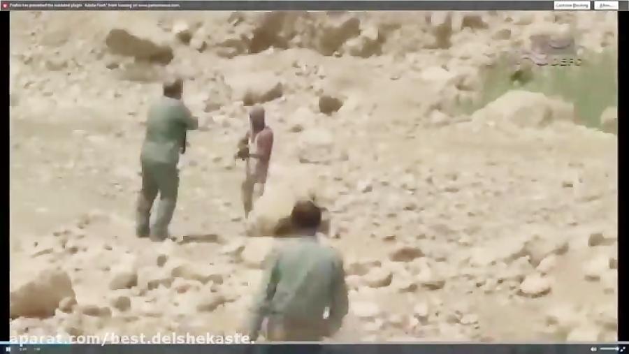 فیلم درگیری شکارچی مسلح با اسلحه نظامی به محیط بان-480p