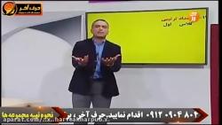 آموزش مبحث اعداد عربی کنکور - حرف آخر