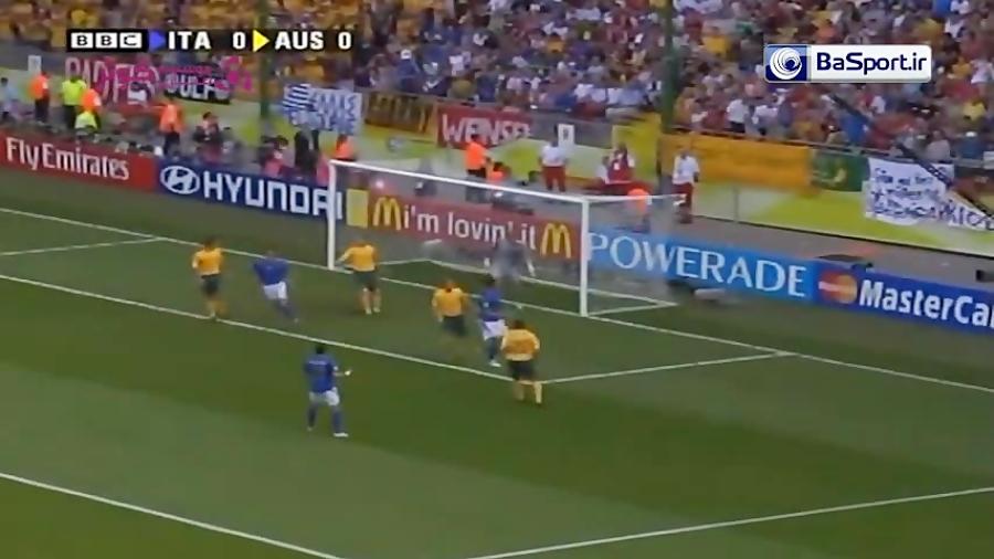 خلاصه بازی ایتالیا 1-0 استرالیا (جام جهانی 2006)