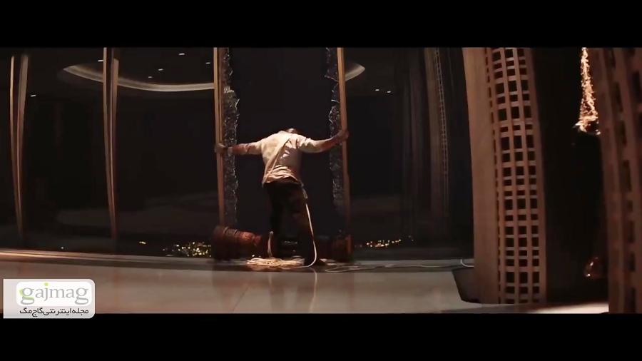 """تریلر فیلم SKYSCRAPER با بازی دواین جانسن"""" (The Rock)"""