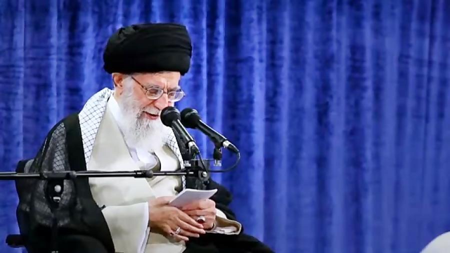 بازخوانی مهمترین بخش های بیانات رهبر انقلاب در دیدارهای رمضانی؛بخش اول اروپا ب