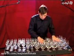 توکاتا و فوگ در دی مینور اثر باخ با هارپ شیشه ای