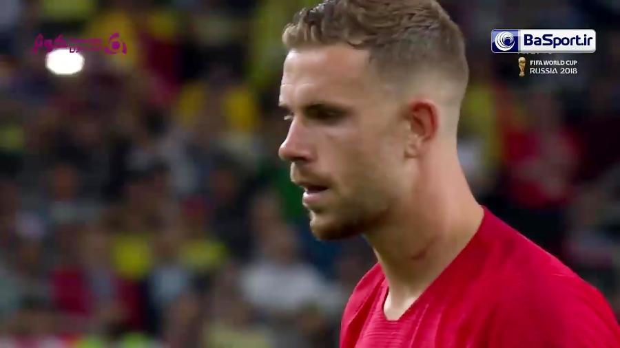 وقت اضافه و ضربات پنالتی بازی کلمبیا - انگلیس (HD)
