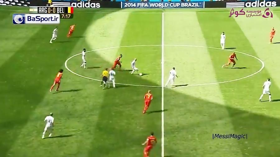 مهارت های لیونل مسی در ادوار مختلف جام جهانی