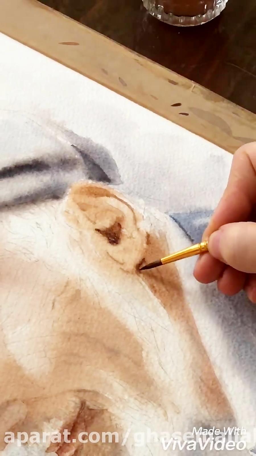 آموزش نقاشی با آبرنگ (معصومه ترکمان) 2