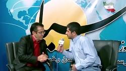 گفتگو با فیروز ابراهیمی، دبیر خانه صنعت و معدن خراسان رضوی در نمایشگاه صنعت ساخت