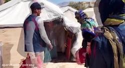 کمک های گروه صنعتی گلرنگ در مناطق زلزله زده کرمانشاه