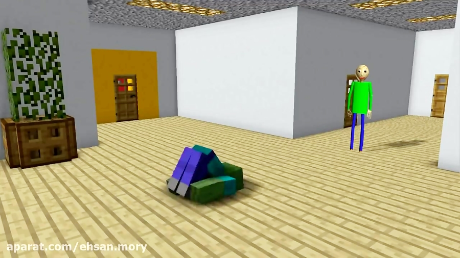 Monster school_baldi's basics_minecraft Animation
