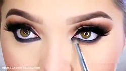 آرایش جدید چشم به صورت حرفه ای