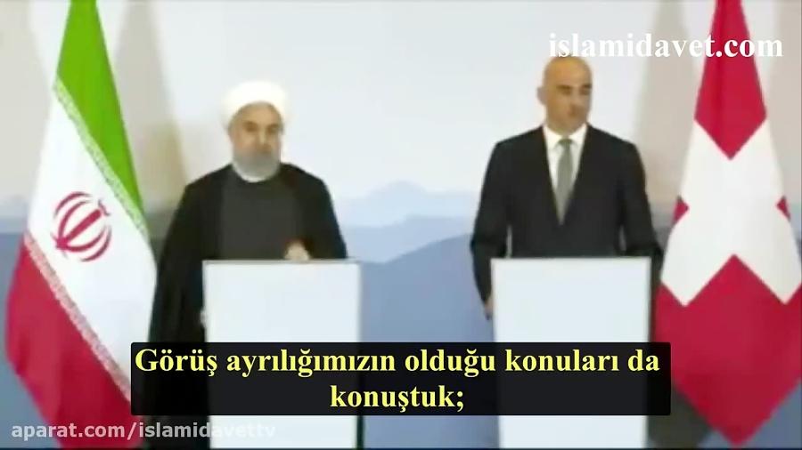 Hasan Ruhani'nin İsviçre'deki temasları kapsamında gerç