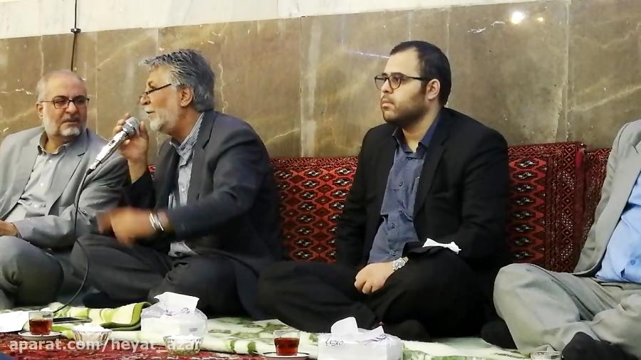 حسینیه آذربایجانیهای مقیم مرکز حاج سیاوش پور صمدی