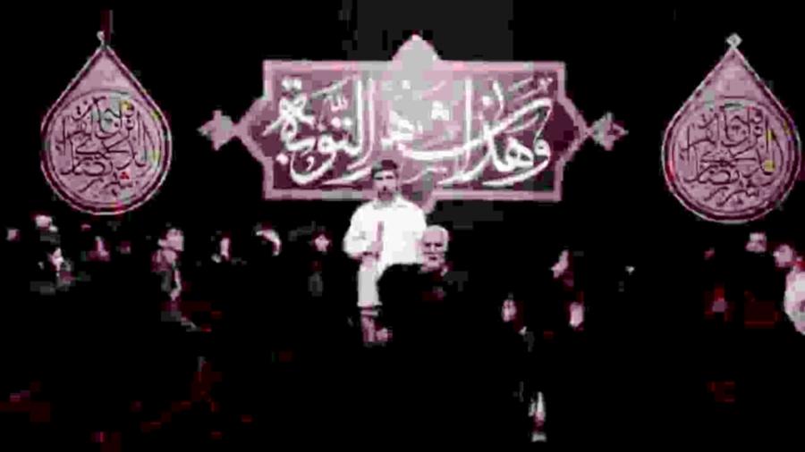 واحد زیبا حاج مهدی سلحشور - هیئت مکتب الشهدا قائمشهر