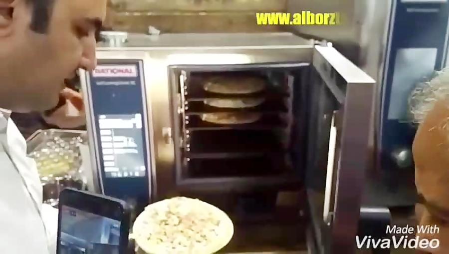 عجیبترین دستگاه پخت پیتزا فر رشنال مدل XS